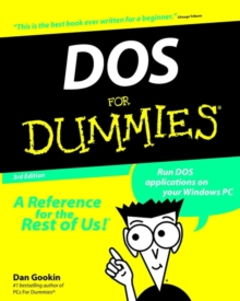 DOS for Dummies, 3rd Edition, Paperback Book