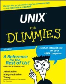 Unix for Dummies, 5th Edition, Paperback Book