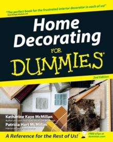 Home Decorating for Dummies, 2nd Edition, Paperback Book