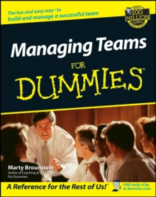 Managing Teams For Dummies, Paperback Book