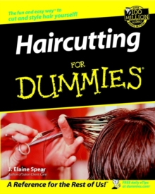 Haircutting for Dummies, Paperback Book