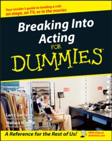 Breaking Into Acting for Dummies, Paperback Book