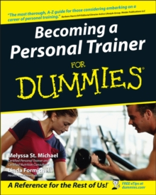 Becoming a Personal Trainer For Dummies, Paperback Book