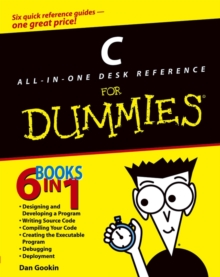 C All-In-One Desk Reference for Dummies, Paperback Book