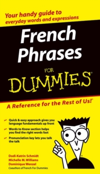 French Phrases For Dummies, Paperback Book