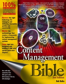 Content Management Bible, Paperback Book