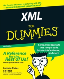 XML for Dummies, 4th Edition, Paperback Book