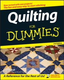 Quilting for Dummies, 2nd Edition, Paperback Book