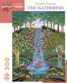 Nanette Carton the Gathering 300-Piece Jigsaw Puzzle, Other merchandise Book
