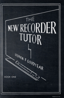 NEW RECORDER TUTOR BOOK 1, Paperback Book