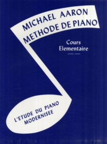 MICHAEL AARON PIANO COURSE BK1 FRENCH, Paperback Book