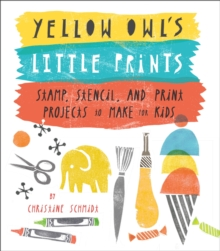 Yellow Owl's Little Prints, Paperback Book