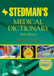 Stedman's Medical Dictionary, Hardback Book