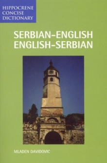 Serbian-English / English-Serbian Concise Dictionary, Paperback Book