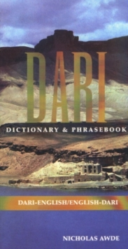 Dari-English / English-Dari Dictionary & Phrasebook, Hardback Book