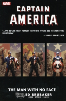 Captain America: The Man With No Face, Paperback Book