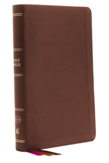 KJV, Minister's Bible, Leathersoft, Brown, Comfort Print, Leather / fine binding Book