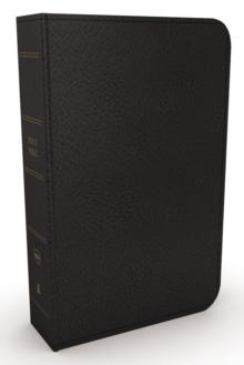 NKJV, Minister's Bible, Leathersoft, Black, Comfort Print, Leather / fine binding Book
