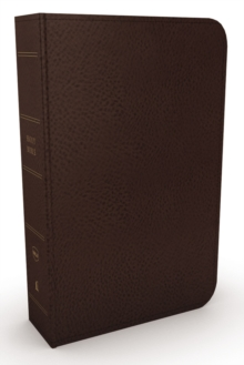 NKJV, Minister's Bible, Leathersoft, Brown, Comfort Print, Leather / fine binding Book