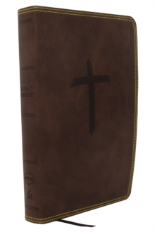 NKJV, Holy Bible for Kids, Leathersoft, Brown, Comfort Print : Holy Bible, New King James Version