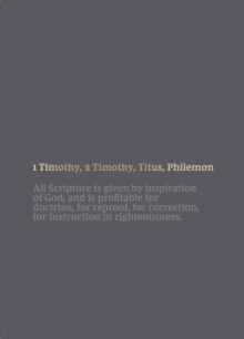 NKJV Bible Journal - 1-2 Timothy, Titus, Philemon, Paperback, Comfort Print : Holy Bible, New King James Version, Paperback / softback Book
