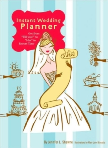 Instant Wedding Planner, Diary Book