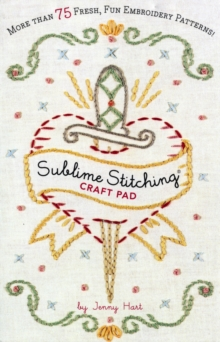 Sublime Stitching Craft Pad, Paperback Book