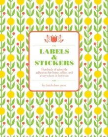 Dutch Door Labels and Stickers, Diary Book