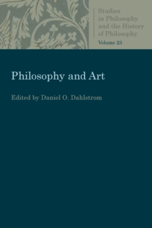 Philosophy and Art, Paperback / softback Book