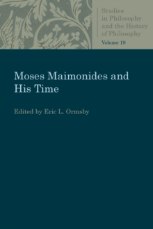 Moses Maimonides and His Time, Paperback / softback Book