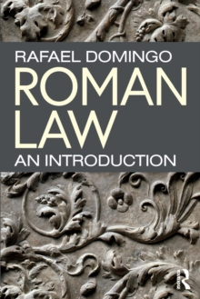 Roman Law : An Introduction, Paperback / softback Book
