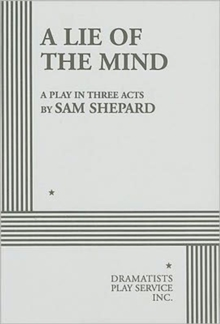 A Lie of the Mind, Paperback Book