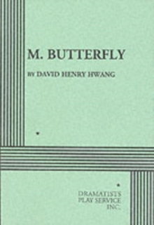 M. Butterfly, Paperback Book