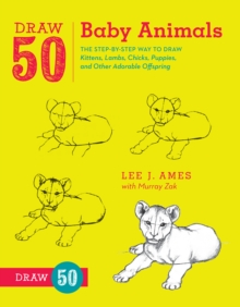 Draw 50 Baby Animals, Paperback Book