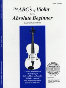 ABCS OF VIOLIN FOR THE ABSOLUTE BEGINNE,  Book