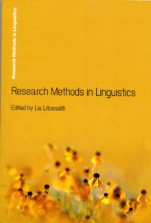 Research Methods in Linguistics, Paperback Book
