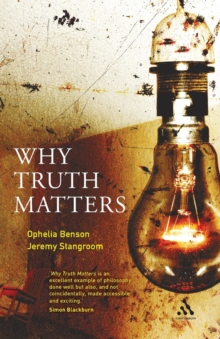 Why Truth Matters, Paperback Book