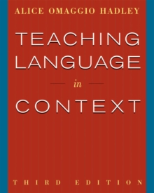 Teaching Language in Context, Paperback Book