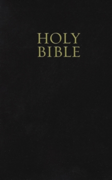 KJV, Holy Bible, Giant Print, Imitation Leather, Black, Red Letter Edition, Paperback Book