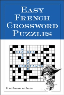 Easy French Crossword Puzzles, Paperback Book