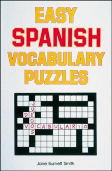 Easy Spanish Vocabulary Puzzles, Paperback Book