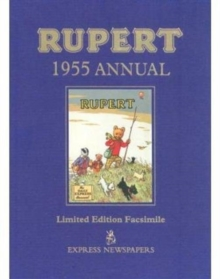 Rupert Bear Annual 1955, Hardback Book
