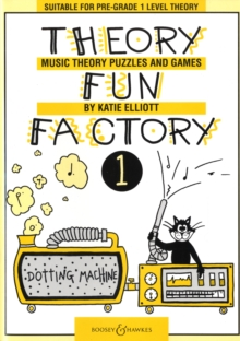 Theory Fun Factory : Music Theory, Puzzles and Games v. 1, Paperback Book