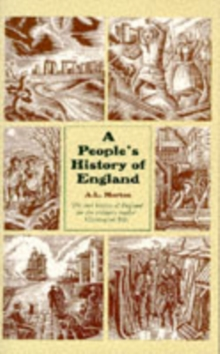 A People's History of England, Paperback Book