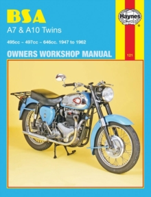 B. S. A. A7 and A10 Twins Owner's Workshop Manual, Paperback Book