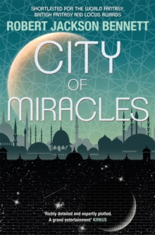 City of Miracles : The Divine Cities Book 3, Paperback / softback Book