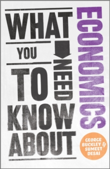What You Need to Know About Economics, Paperback Book