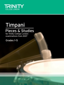 Percussion Exam Pieces & Studies Timpani: Grades 1-5, Sheet music Book