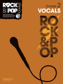 Trinity Rock & Pop Exams: Vocals Grade 2, Mixed media product Book