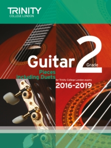 Trinity College London: Guitar Exam Pieces Grade 2 2016-2019, Sheet music Book
